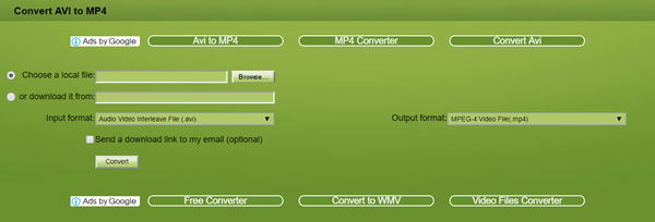 How to Convert AVI to MP4 Online