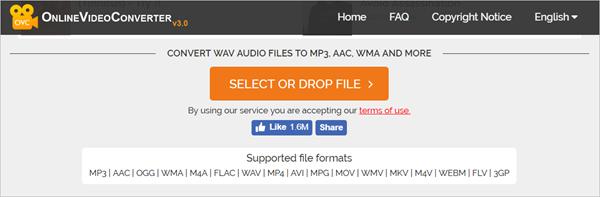 Convert WAV to MP3 Online