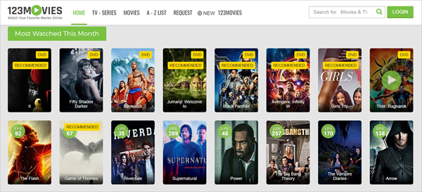 123movies4u.me is one of the Top 12 Best Sites to Watch TV Series Online for Free 2019.