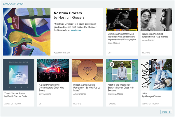 Bandcamp is one of the Top 12 Sites to Download Full Music Albums for Free 2019.