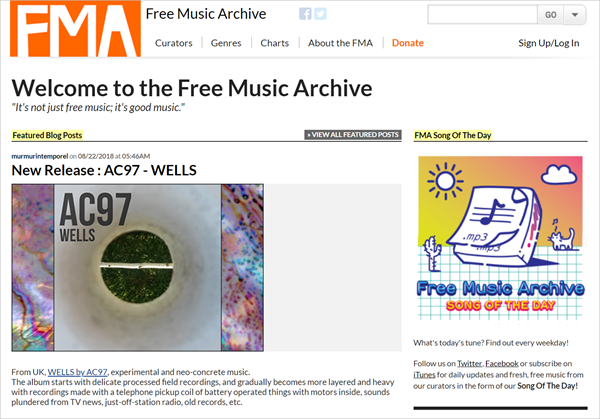 Free Music Archive is one of the Top 12 Sites to Download Full Music Albums for Free 2019.