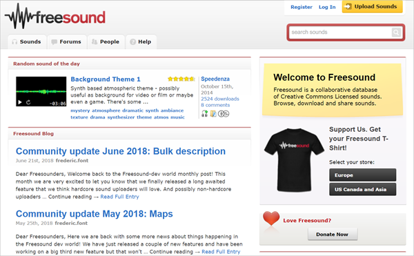 FreeSound is one of the Top 12 Sites to Download Full Music Albums for Free 2019.
