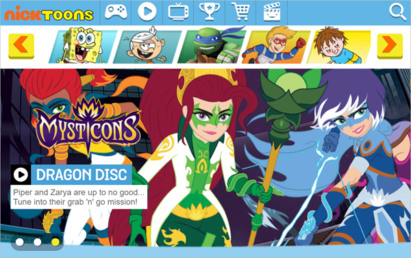 Nick Toons is one of the Top 8 Websites to Watch Cartoons/Anime Online.
