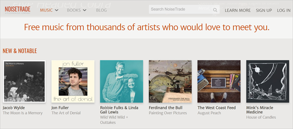 NoiseTrade is one of the Top 12 Sites to Download Full Music Albums for Free 2019.