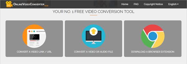 OnlineVideoConverter is one of 2018 Top 6 Best Free Online Video Converter