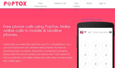 PopToxis one of the Top 10 Free Calling Websites Which Will Surely Rock by 2019.