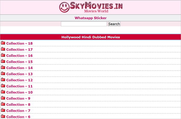 SkyMovies is one of the Top 10 Websites to Download New Hollywood Movies in Hindi 2019.