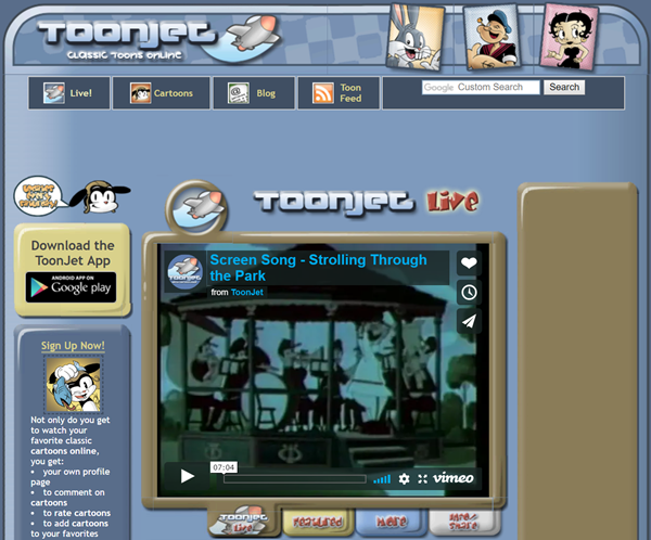 ToonJet is one of the Top 8 Websites to Watch Cartoons/Anime Online.