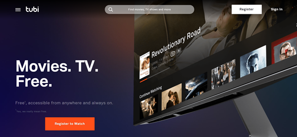 Tubi TV is one of the Top 12 Best Sites to Watch TV Series Online for Free 2019.