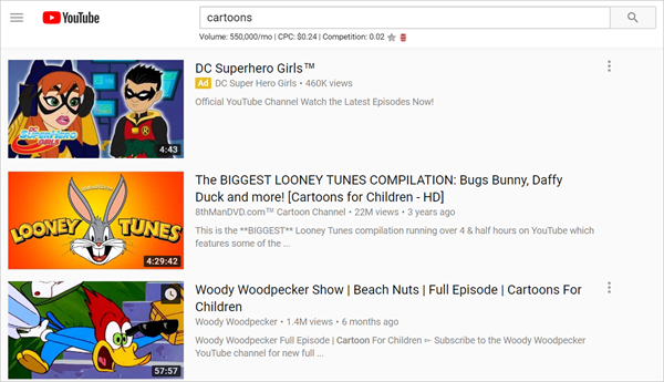 YouTube is one of the Top 8 Websites to Watch Cartoons/Anime Online.