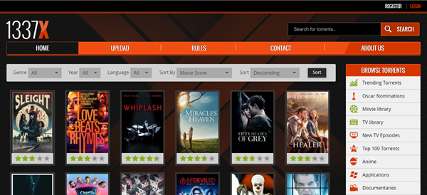 1337X Torrent Movies is one of the 10 Great Sites to Download Free Movies from Mobile Devices.