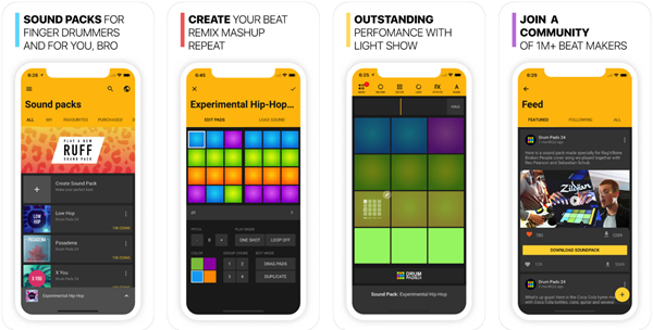Drum Pads 24 is one of the top 5 Best Free Audio Editing Apps for Android & iPhone.
