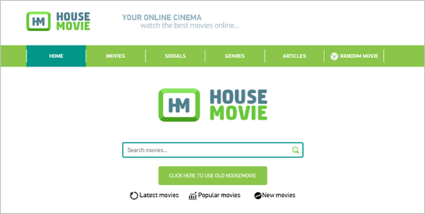 HouseMovie is one of the 10 Great Sites to Download Free Movies from Mobile Devices.