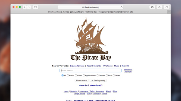 THE PIRATE BAY is one of the 10 Best Torrent Sites for Mac to Download Torrents.