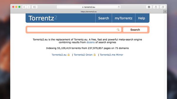 TORRENTZ2 is one of the 10 Best Torrent Sites for Mac to Download Torrents.