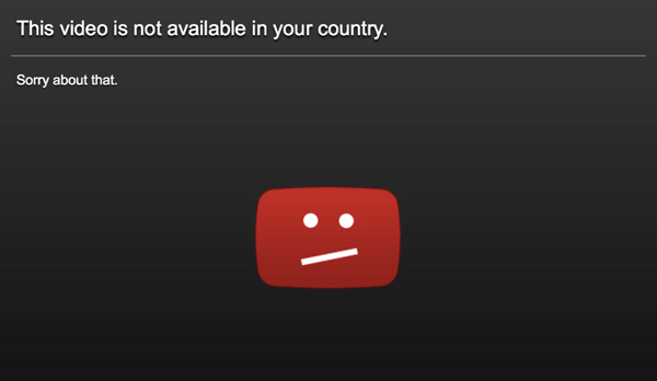 Blocked YouTube Videos in Your Country