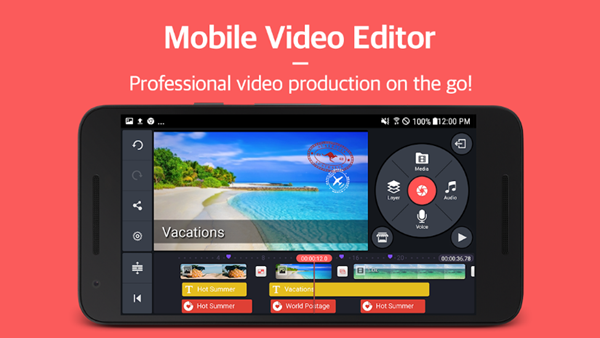 KineMaster is one of the 5 Best Free Video Editing Software for Chromebook.