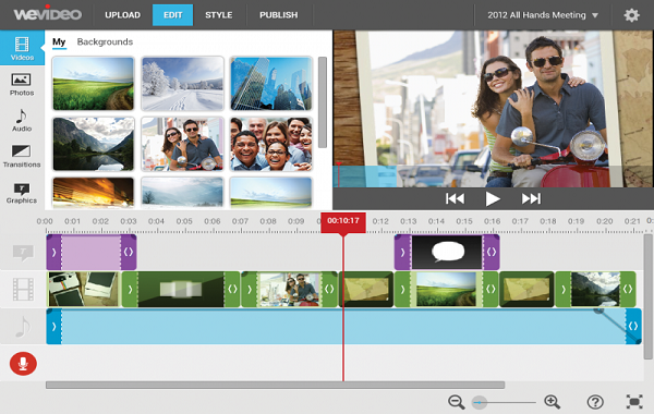 WeVideo is one of the 5 Best Free Video Editing Software for Chromebook.