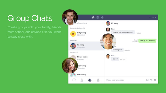 LINE is one of the best free Video Calling Software & Apps for Windows.