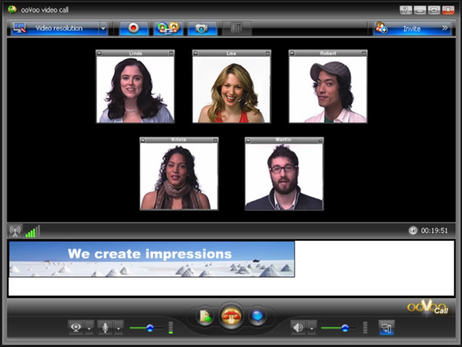 ooVoo is one of the best free Video Calling Software & Apps for Windows.