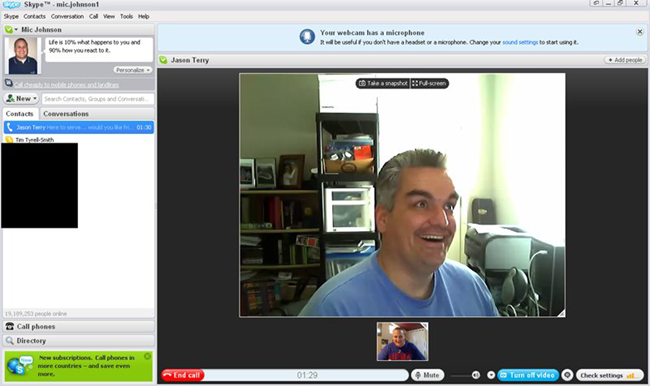 Skype is one of the best free Video Calling Software & Apps for Windows.