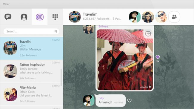 Viber is one of the best free Video Calling Software & Apps for Windows.
