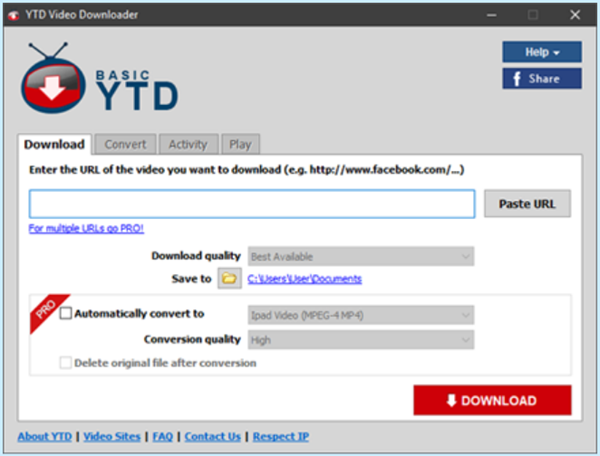 YTD Video Downloader is best 4K Downloaders to Download 4K Videos from YouTube.