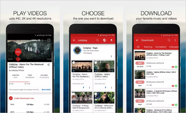 Videoder is Top Best Free YouTube Video Downloader App for Android.